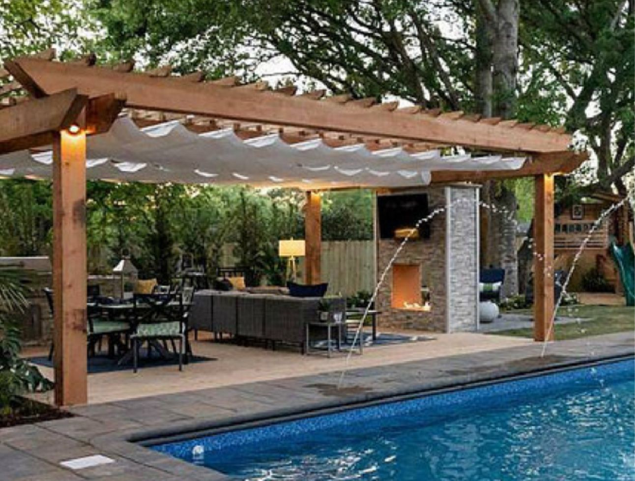 Awnings Ontario | Pergolas & Terrace-Top Structures | Barrie Tent