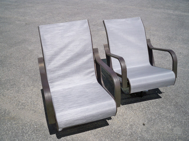 Custom Projects - Outdoor Chairs