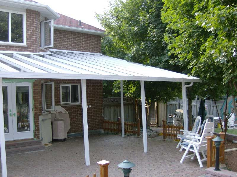 Deck Awnings Ontario | Polycarbonate Awnings & Shelters