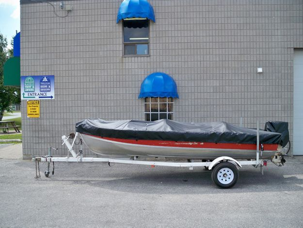Boat Cover Side View