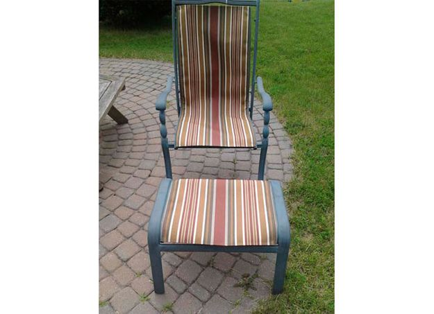 Garden chair covering