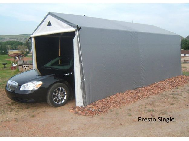 Tarps Ontario | Vehicle Temporary Shelters | Barrie Tent ...