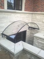 Polycarbonate Awnings – Crystal