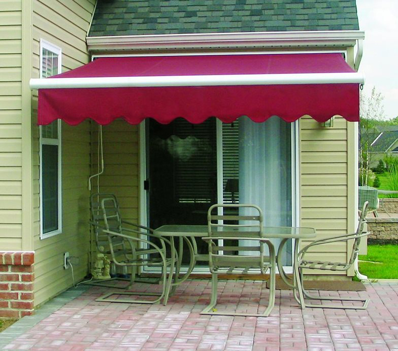 Slim fit & extra-long protection awning