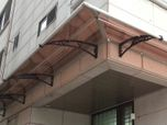 Canofix® Polycarbonate Awnings