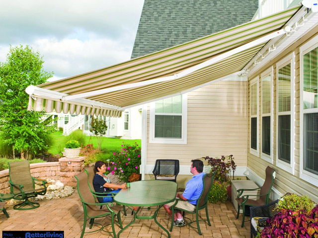 Deck Awning in Barrie